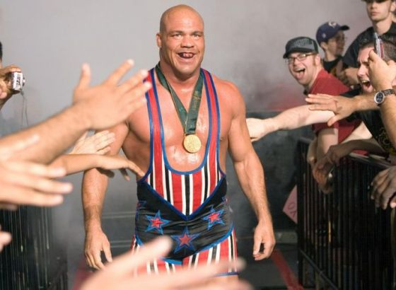 Kurt Angle Hid Broken Neck To Get WWE World Heavyweight Championship Run