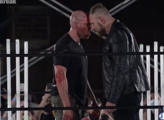 Jon Moxley Confronts New GCW Champion Nick Gage