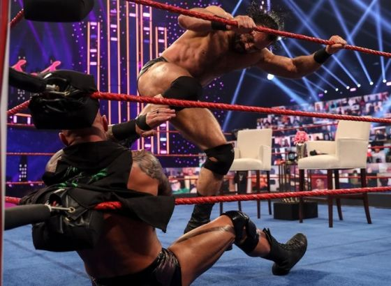 Drew McIntyre & Randy Orton Continued To Brawl After WWE Raw Went Off The Air