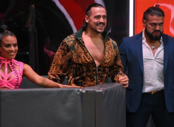Report: Andrade And Angel Garza's TV Time Won't Be Affected By Paul Heyman's Departure From WWE Raw