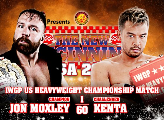 IWGP US Title Match Takes Place At NJPW Strong (SPOILERS)