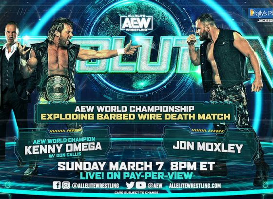 "Kenny Omega On The AEW Exploding Barbed Wire Deathmatch: ""This Is Going To Be A More Visceral Experience"""