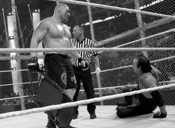 How Brock Lesnar & The Undertaker Gave Us The Best Of Two Eras At WWE Hell In A Cell 2015