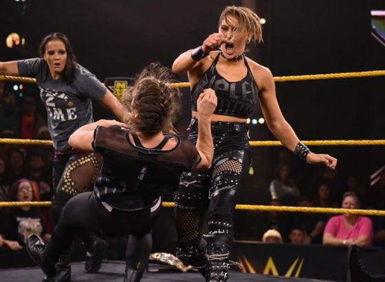 Rhea Ripley Wanted Bianca Belair To Tattoo Her During NXT WarGames