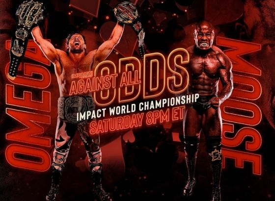 Report: Moose Vs. Kenny Omega's IMPACT Against All Odds Match Was Taped Last Weekend