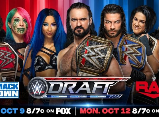 Complete WWE Draft Night Two Results