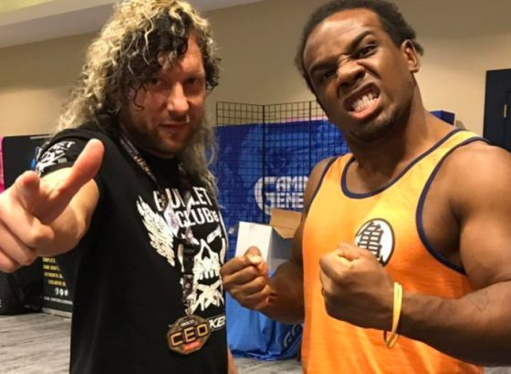 Xavier Woods Wants An Inter-Promotional Match With Kenny Omega