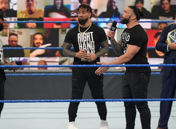 Report: WWE Planning 'A Big Night' For Roman Reigns And The Usos At SummerSlam 2021