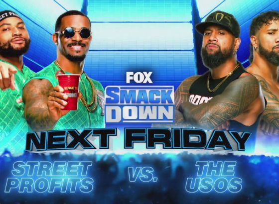 The Usos Vs. The Street Profits Added To WWE SmackDown