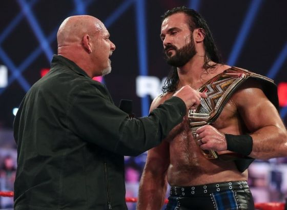 Drew McIntyre & Goldberg Returning To WWE Raw Next Week