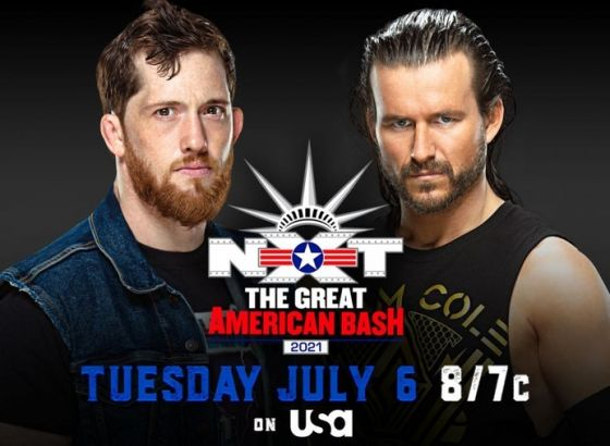 Kyle O'Reilly Vs. Adam Cole Set For WWE NXT The Great American Bash