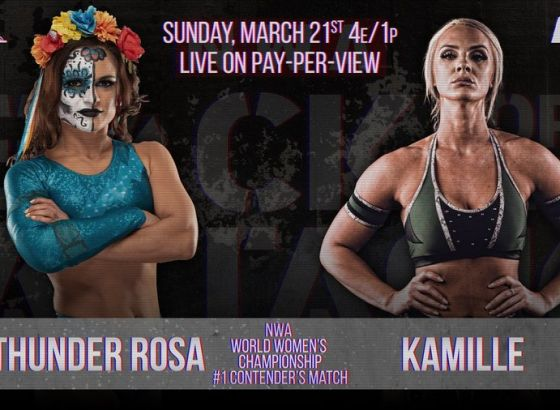Thunder Rosa Vs. Kamille Announced For NWA Back For The Attack