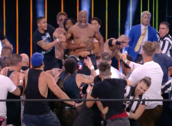 Mike Tyson And Chris Jericho Brawl On AEW: Dynamite