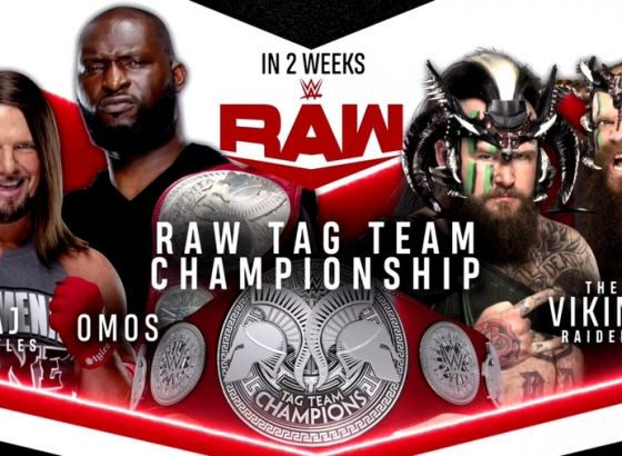 Tag Team Championship Match Set For July 19 WWE Raw