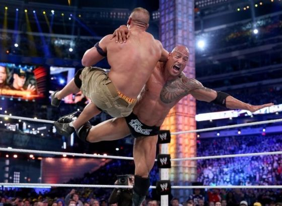 The Rock Reveals WWE WrestleMania 29 Injury Cost Him His Six-Pack