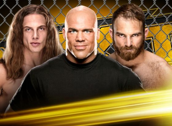 "Kurt Angle To Officiate Matt Riddle-Timothy Thatcher ""Cage Fight"" On NXT"