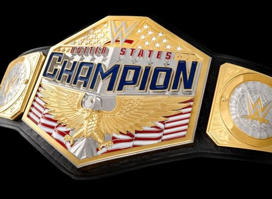 Redesigned WWE United States Championship Belt Was Finished Back In December 2019
