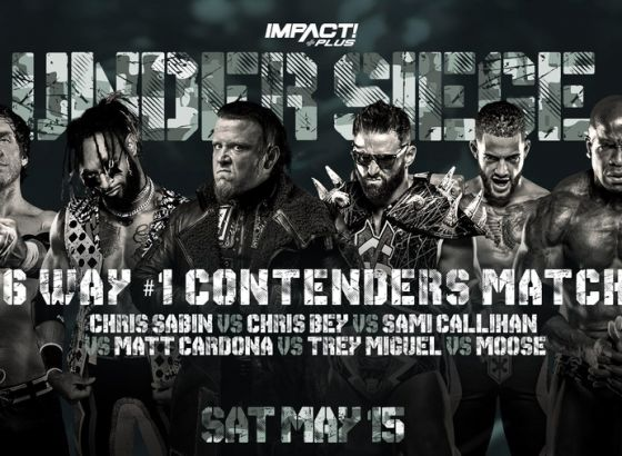 Six-Way IMPACT World Championship #1 Contenders Match Finalised For Under Siege