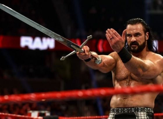 Exclusive: Drew McIntyre Reveals Vince McMahon's Influence On WWE Entrance & Sword Name