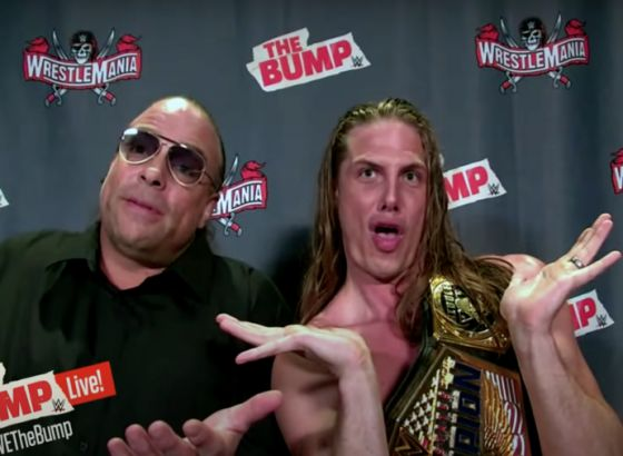 WWE's Riddle First Met Rob Van Dam At The Playboy Mansion