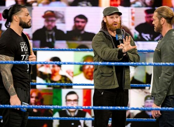 Edge: I Would Love To Share A WWE Ring With 'Incredible' Sami Zayn