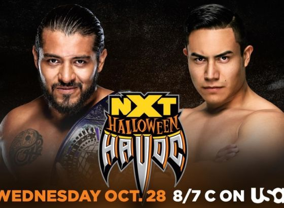 Santos Escobar Vs. Jake Atlas Added To WWE NXT Halloween Havoc Card