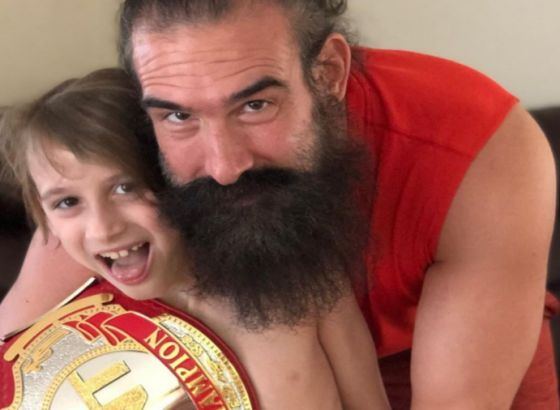 AEW Sign Brodie Lee's Eight-Year-Old Son