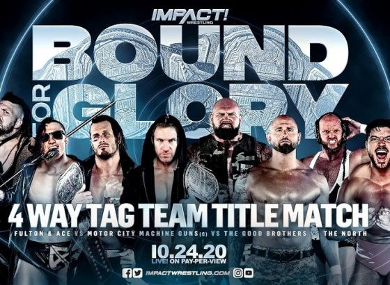 IMPACT World Tag Team Championship Match Set For Bound For Glory 2020