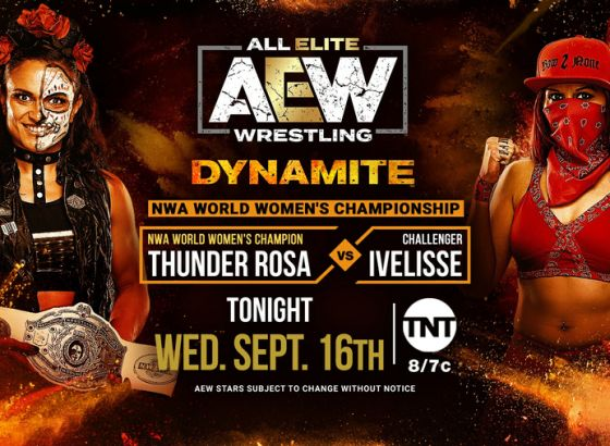 Report: Shoot Strikes Exchanged During Thunder Rosa Vs. Ivelisse On AEW: Dynamite