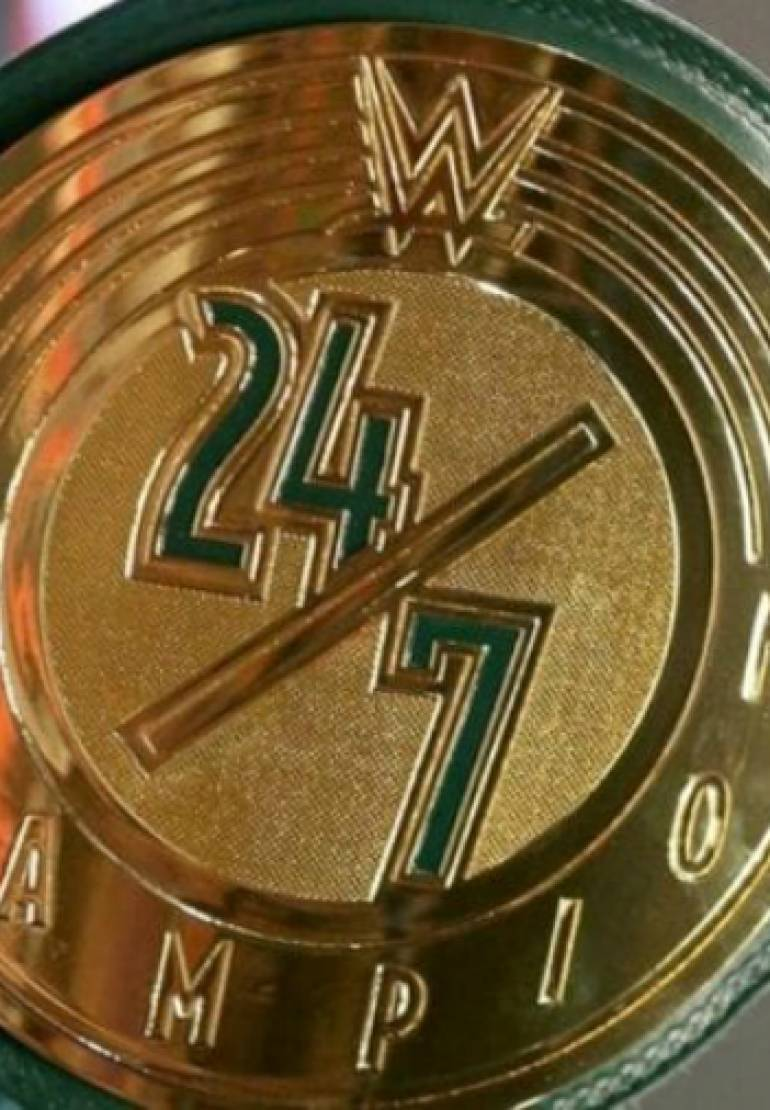WWE 24/7 Title Changes Hands On Raw