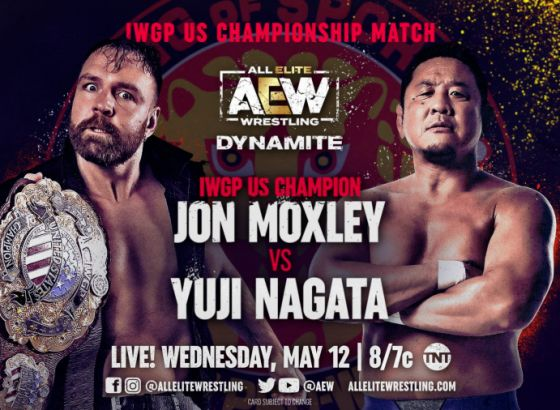 Jon Moxley Vs. Yuji Nagata Was Originally Scheduled For NJPW Strong