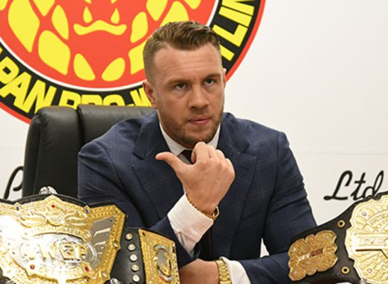 Will Ospreay Wants To Defend The IWGP World Heavyweight Title Against Drew McIntyre, CM Punk