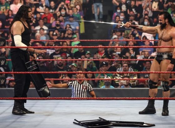 Michael Cole 'John Cena' Commentary Audible In Piped In Cheers For Drew McIntyre On WWE Raw