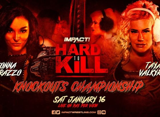 Knockouts Championship Match Set For IMPACT Wrestling Hard To Kill 2021