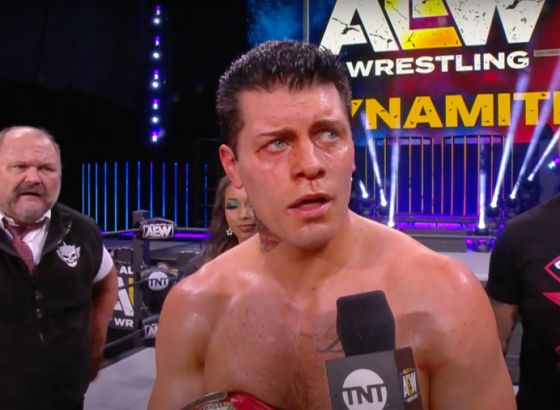 Cody Wins The TNT Championship On AEW: Dynamite