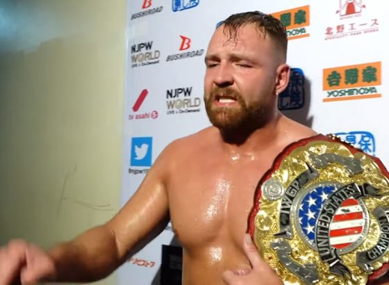 Jon Moxley Pulled From NJPW Battle In The Valley