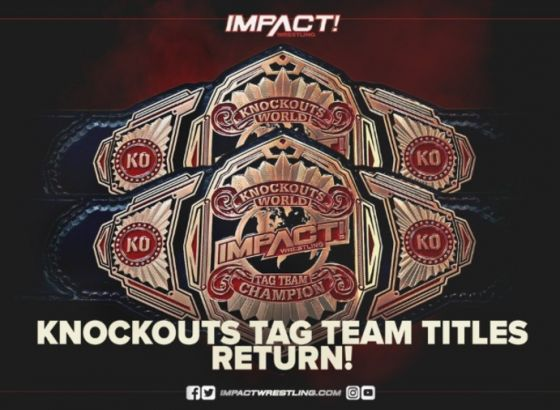 Impact Wrestling Bringing Back Knockouts Tag Team Titles