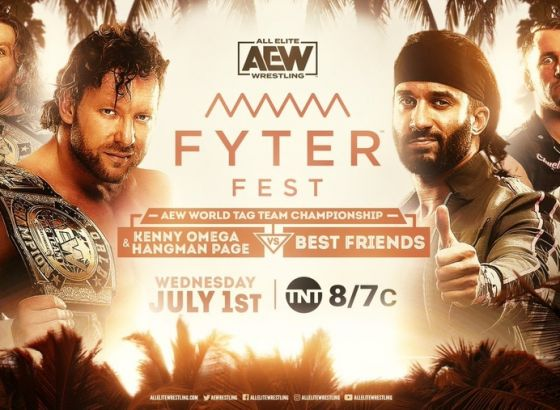 AEW Fyter Fest 2020 Night 1 Results
