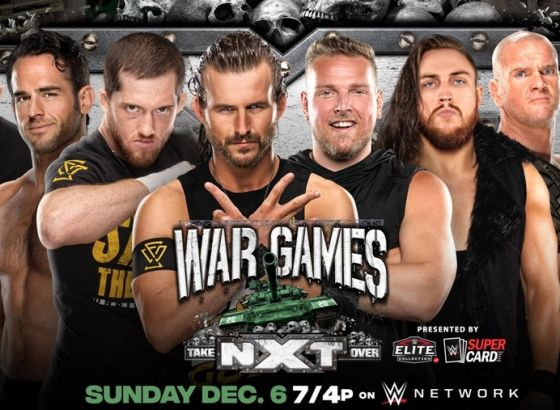 WarGames Advantage Ladder Match Set For WWE NXT