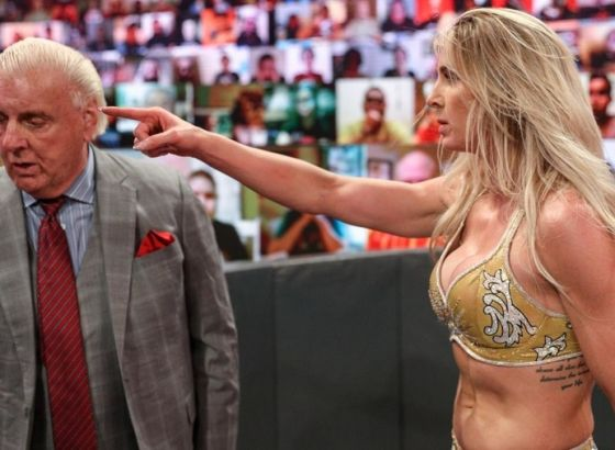 Charlotte Flair On The Problem She Had With Ric Flair-Lacey Evans Storyline