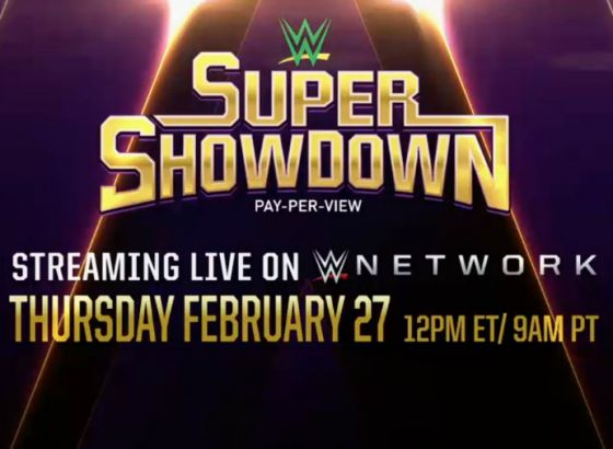 WWE Announce Title Match For Super ShowDown