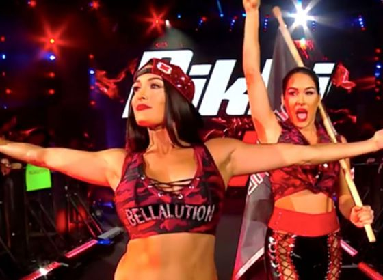 "WWE Files Trademark For ""Bella Glam"""