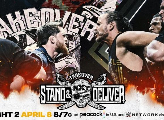 WWE NXT TakeOver: Stand & Deliver Night Two - As It Happened