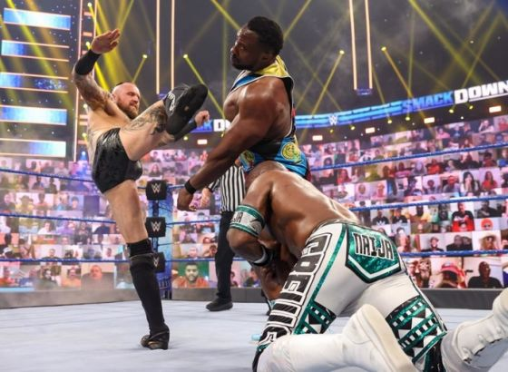 Report: Aleister Black's WWE SmackDown Feud With Big E Had No Long-Term Endgame