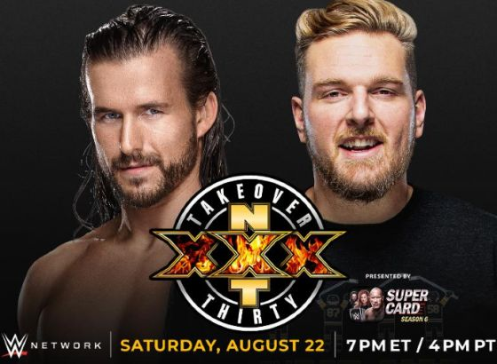 Adam Cole Vs. Pat McAfee Official For NXT TakeOver XXX