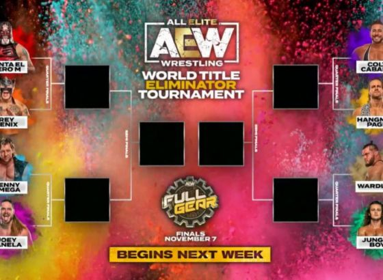 Entire First Round Of AEW Title Contender Tournament Taking Place Wednesday