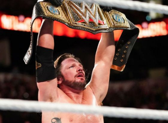 AJ Styles Explains Why He Thinks His Year-Long WWE Title Reign Ended When It Did