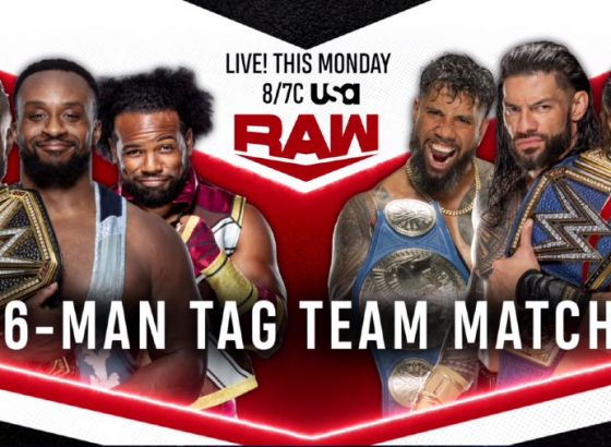 New Day Vs. Bloodline, Other Matches Announced For WWE Raw
