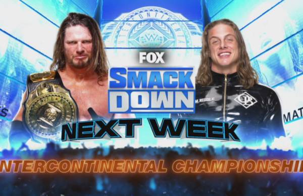 Matt Riddle Challenges For AJ Styles' IC Title On Next Week's WWE SmackDown