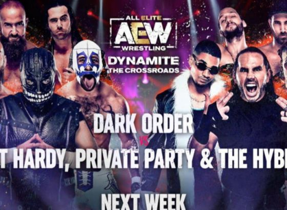Ten Man Tag Added To AEW Dynamite: The Crossroads